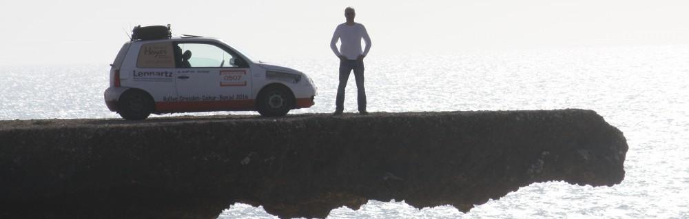 LUPO one / Rallye Dresden – Dakar – Banjul 2016